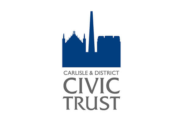 Logo design for Carlisle District Civic Trust in Cumbria