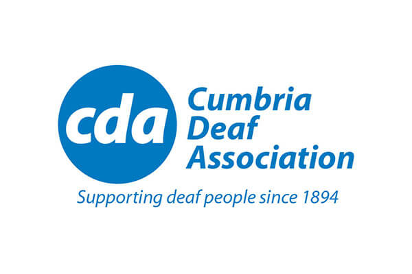 Logo design for Cumbria Deaf Association in Carlisle
